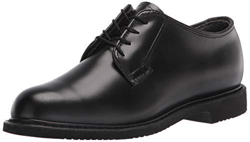 Bates Women's Lites Leather Oxford Uniform Dress Shoe, Black, 8.5