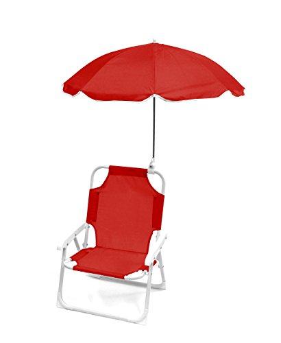 Heritage Kids Beach Chair, Red
