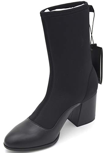 Armani Exchange Damen Stiefel Stiefeletten Boots Freizeit Winter XDN003 XV056 35 EU - 4M USA - 2 UK Nero Black