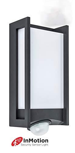Eco-Light LED Außenleuchte Qubo - Wandleuchte mit LED Technik. 15 Watt Lichtleistung. Einfache Montage an Ihrer Hauswand oder dem Gartenhaus. Integrierter Bewegungsmelder mit großer Reichweite.