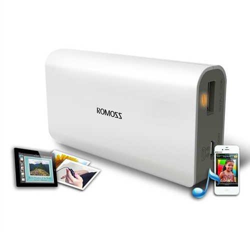 Romoss 4000mAh Batería externa de reserva y cargador con Micro-USB y LED...