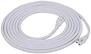 WeiSenLED T5/T8 10ft 3M LED Lamp Connecting Wire Ceiling Lights,Daylight LED Integrated Tube Cable linkable Cords for LED Tube Lamp Holder Socket Fittings with Cables to US 10-Pack