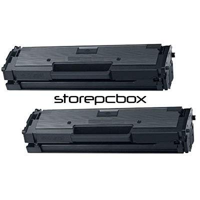 Storepcbox - 2 Toner compatibili con Samsung D101 ML-2160, ml-2162, ML-2165W, ML-2165, SCX-3400, SCX-3400F, SCX-3405, SCX-3405F, SCX-3405FW, SF-760P, SF765P Nero kit 2 pezzi