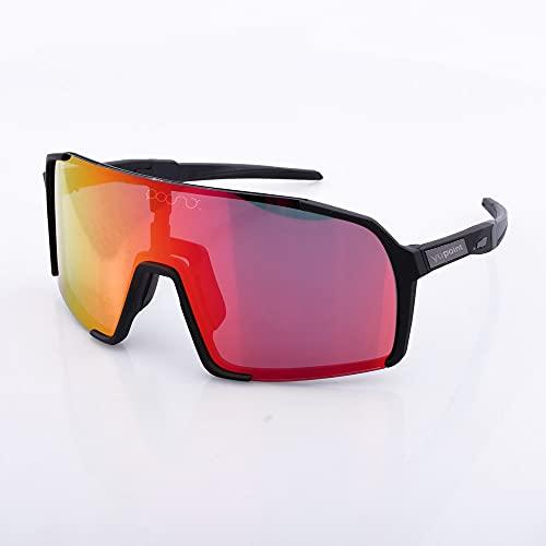YUPOINT - Occhiali da ciclismo - Unisex - Visione chiara e chiara -CE Certificazione - Lenti polarizzate UV 400 - Sostegno attività all'aria aperta - Hiking - Sci - Running - Triathlon (arancione)