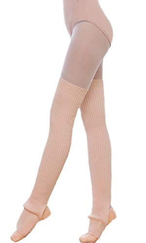 Nanxson Calentadores de Piernas para Mujer Calentador de Piernas para Fiestas de Los Años 80 Deportes de Baile Yoga TTW0072 (rosado)