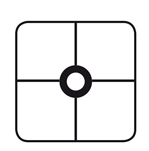 Graine Créative Armature abat-jour carré avec bague 20 cm