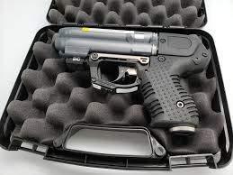 Firestorm JPX 6 Four Shot Compact Pepper Spray Gun with LED Laser