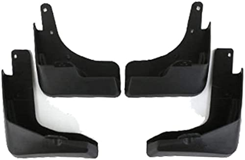 4pcs Coche Mudos Flaps Mudguars actualizados, Guardabares para Nissan X-Trail X Trail Xtrail T32 2014-2019, Frontal Trasero Splash Guards Coche Fender Styling Body Fitings.