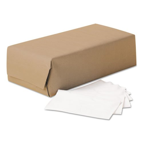 Scott n.a 98200 1/8-Fold Dinner Napkins, 2-Ply, 17 x 14 63/100, White, 300/Pack, 10 Packs/Carton, Natural