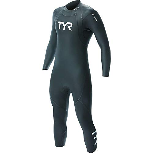 TYR Men's Hurricane Wetsuit Cat 1, Black, L