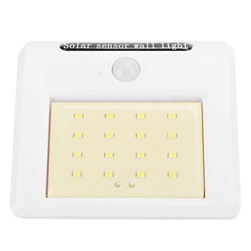 01 Luz Solar, lámpara de Pared, Resistente al Calor Resistente al Desgaste para Parques para Carreteras para Patios para para Jardinero