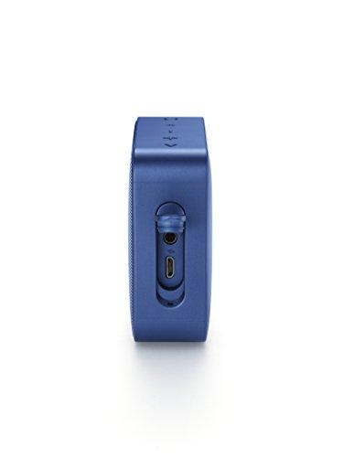 JBLGO2BluetoothスピーカーIPX7防水/ポータブル/パッシブラジエーター搭載ブルーJBLGO2BLU【国内正規品/メーカー1年保証付き】