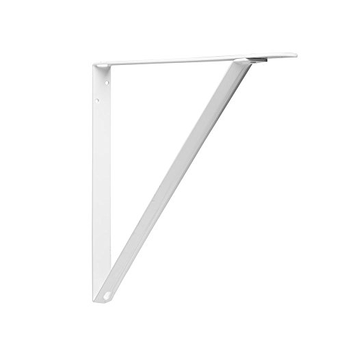 Knape & Vogt RP-0048-19WT John Sterling Heavy Duty Shelf Bracket, 19-Inch, White