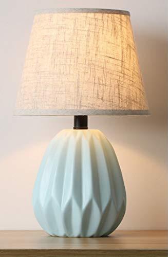 Luces de la Noche Tabla de cerámica del Dormitorio de la lámpara de la Sala de Faros Suave Pequeño Noche sección de luz E, K qiuliyin (Color : Section D)
