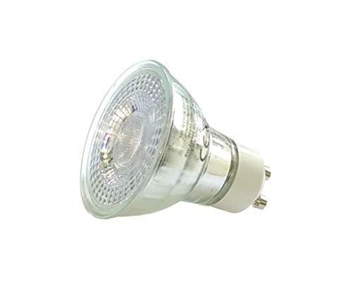 sweet-led Lampe 6er 3 steep dimming 5W 380 Lumen, 3000K, EEK A+, GU10 LED dimmbar Reflektor, Dimmen ohne Dimmer (6er-Warmweiß)