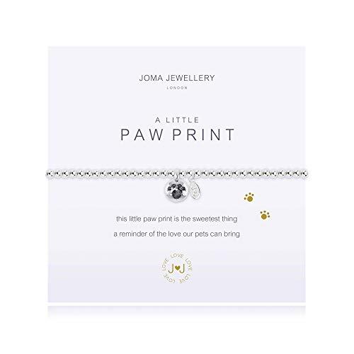 Joma Jewellery a Little Paw Print Bracelet