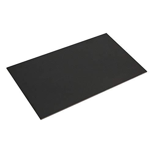 Amusingtao Tablero de fibra de vidrio de un solo lado duradero placa de fibra de vidrio suministros de manualidades para el hogar plantilla de la escuela de vidrio epoxi, laminado portátil DIY (4 mm)