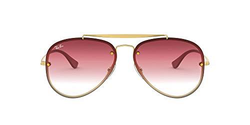 Ray-Ban 91400T Gafas de sol, Demi Gloss Gold, 61 Unisex