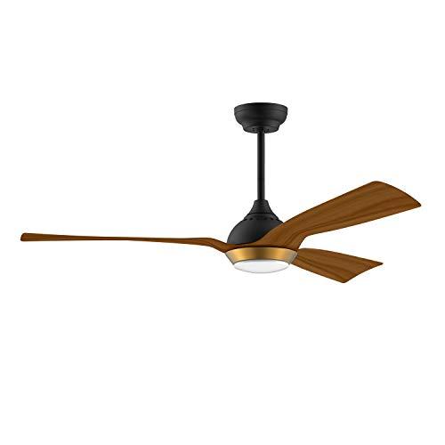 reiga 132CM DC Motor Ceiling Fan with Light Kit, Alexa, Google Home, App...