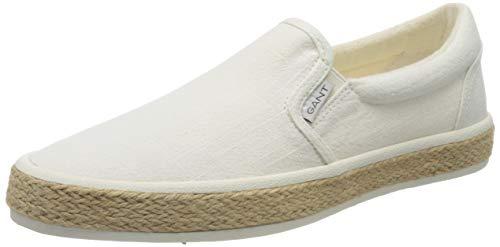 GANT Footwear Herren Primelake Slipper, Weiß (Off White G20), 41 EU