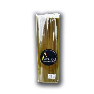 Aglueat - Pasta sin gluten espinacas, 400 g