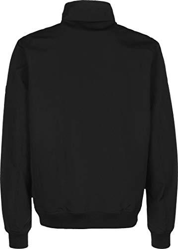 Tommy Jeans Cazadora Chaqueta Bomber Essential con Parche,Deportiva y Elegante, Negro (Black), S para Hombre