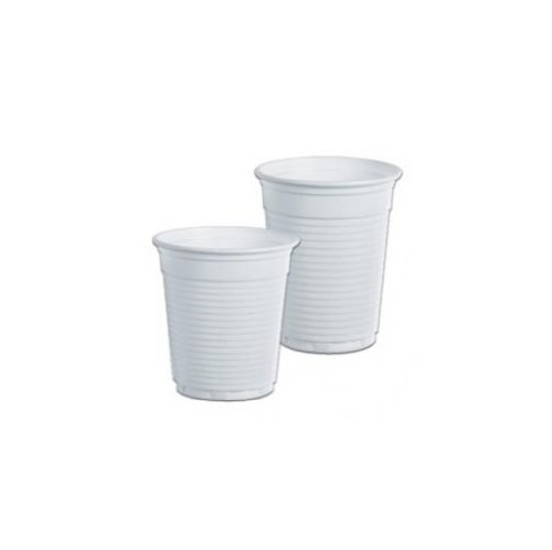 DOPLA 100 Bicchieri da caffè 80 CC Bianchi