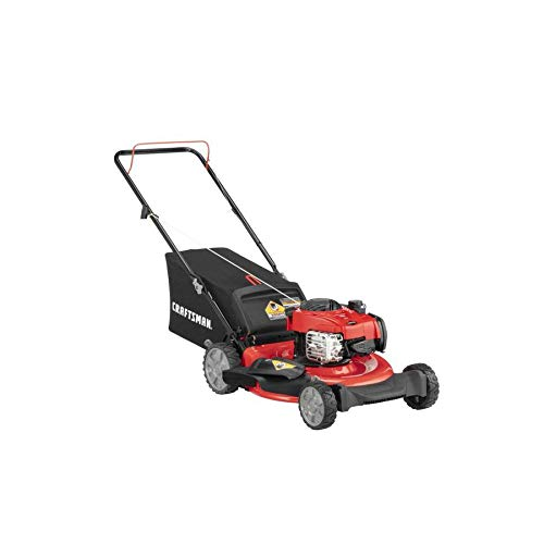 CRAFTSMAN M110 140-cc 21-in Gas Push Lawn Mower with Briggs & Stratton Engine