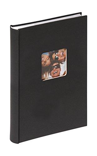 Walther design ME-111-B Memo-Einsteckalbum Fun, 300 Fotos 10x15 cm, schwarz