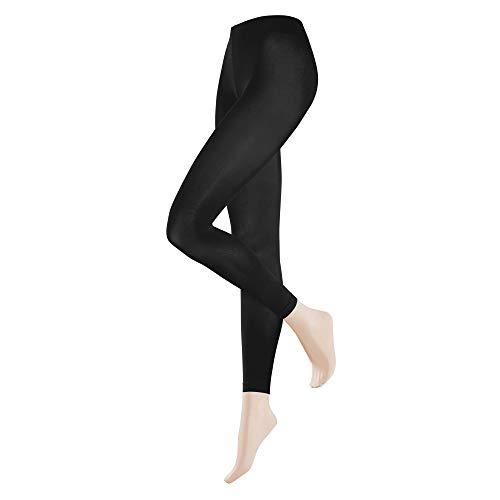 KUNERT Damen Velvet 40 Leggings, Schwarz (Black 0500), W(Herstellergröße: 38/40)
