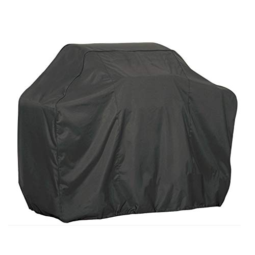 LQKYWNA Black 210D Oxford Fabric BBQ Cover Waterproof Charcoal Barbecue Grill Protector Heavy Duty Gas BBQ Grill Cover 80x66x100cm