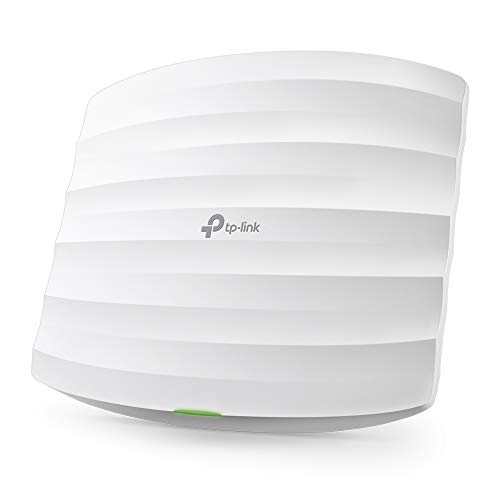 TP-Link N300 Wireless Ceiling Mount Access Point, Support Passive PoE and Direct Current, Easily Mount to Wall or Ceiling, Simply Managed by Free EAP Controller Software (EAP110)