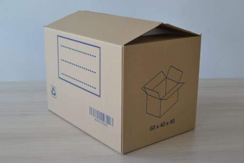 FUN&GO Caja Carton mudanza 60x40x40