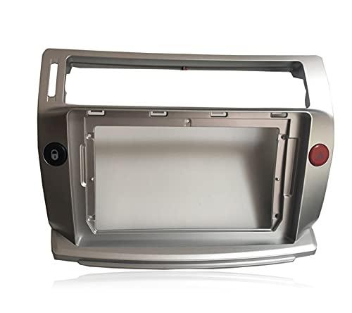 XUNLAN Durable 2 DIN Coche Radio Face Placa Frame Fit para Citroen C-Quatre 2004-2009 Coche DVD GPS Player Panel Dash Mount Kit Accesorios para automóviles Wearable