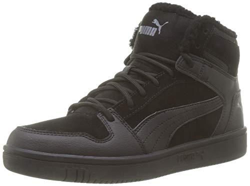 Puma Unisex-Erwachsene Rebound Layup Sd Fur Sneaker, (Puma Black-Castlerock 01), 45 EU