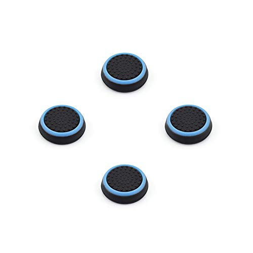 Thumb Stick Grips Caps para Playstation 4 Ps4 Pro Slim Silicone Analog...