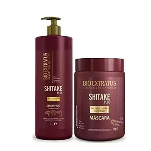 Shampoo Shitake Plus 1l - Bio Extratus