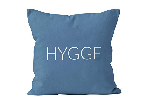 Ethelt5IV Hygge Kissenbezug, 54 Farben, dänische Hygge inspirierte Heimdekoration, minimal, skandinavische Scandi Nordic Home Decor