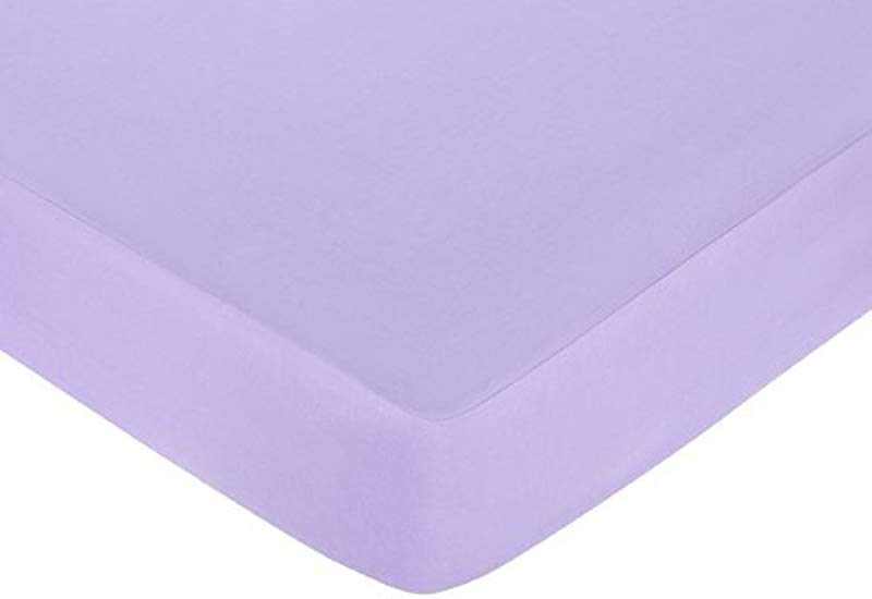 Pink And Purple Butterfly Fitted Crib Sheet For Baby And Toddler Bedding Sets By Sweet JoJo Designs Solid Purple