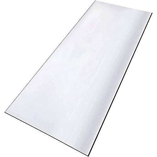 ETZBQ Mantel Transparente, Table Cloth Gruesas Transparente PláStico PVC, Impermeable Protector De Mantel Protector Rectangular De Muebles De Mesa De Escritorio(50x140cm/19.69x55.12in)