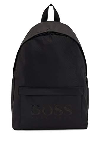 BOSS Herren MagnLD214 Backpack Rucksack aus Strukturiertem Nylon mit Logo Größe One Size