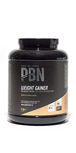 PBN Weight Gainer Cookies & Cream, 3 kg-Behälter