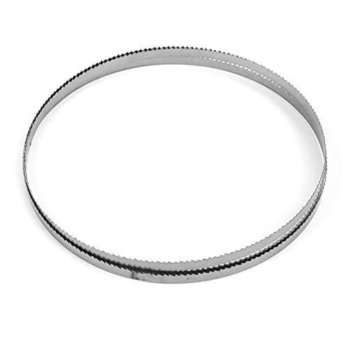 Hoja de sierra de cinta 1400, 6,35 mm-10 dientes, portátil, SK5, acero con resorte para cortar...