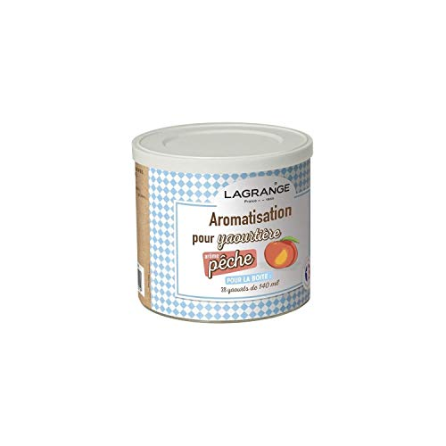 LAGRANGE Aromatisation pour yaourtière Pêche 380340