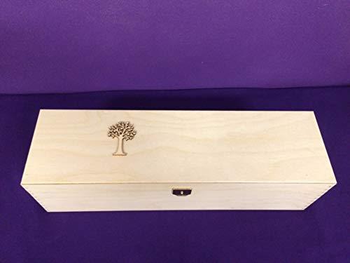 Aufbewahrung für Kerzen - Geschenkverpackung - Aufbewahrungsbox aus Holz- Box - Kerzenkarton - Karton mit Schaumstoff für die Größen 30 x 8 cm - 30 x 7 cm
