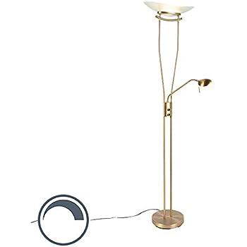 Qazqa Modern Moderne Stehleuchte Stehlampe Standleuchte Lampe
