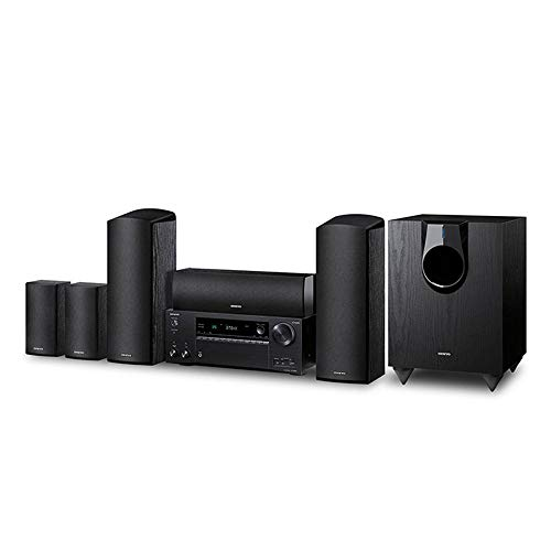 Onkyo HT-S7800 5.1.2 Ch. Dolby Atmos Home Theater Package,Black