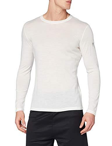 super. Natural T-Shirt M Base 140 T-Shirt à Manches Longues en Mérinos 3XL Fresh White