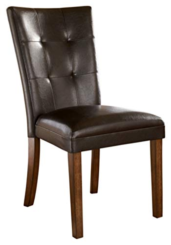 Signature Design by Ashley Lacey Dining Room Chair, Medium Brown