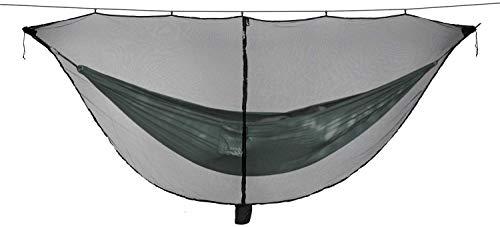 Hamaca portátil para Acampar, Tipo de separación Hamaca Mosquitera Fondo Exterior Fácil instalación Viaje Portátil Coupe Separación Defensa Mosquitera